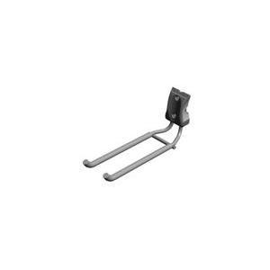 Elfa Utility Straight Handle Tool Hook - Grey