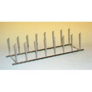 Vertical Plate Rack - Chrome